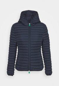 Save the duck - ELLA HOODED JACKET - Light jacket - navy blue - 4