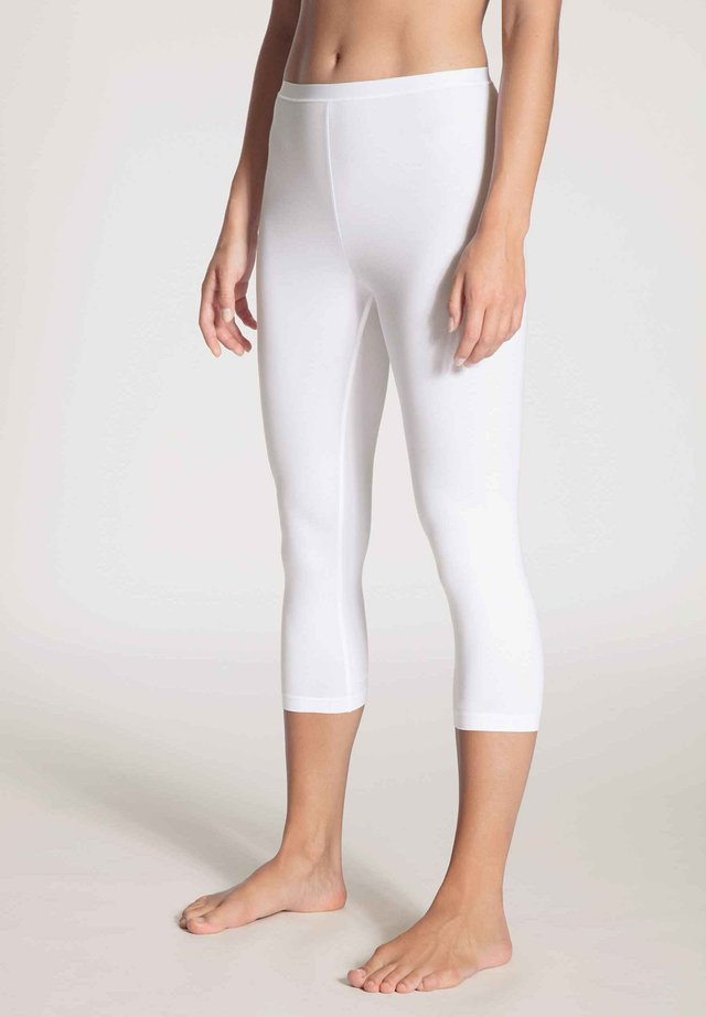 NATURAL COMFORT - Leggings - Trousers - white