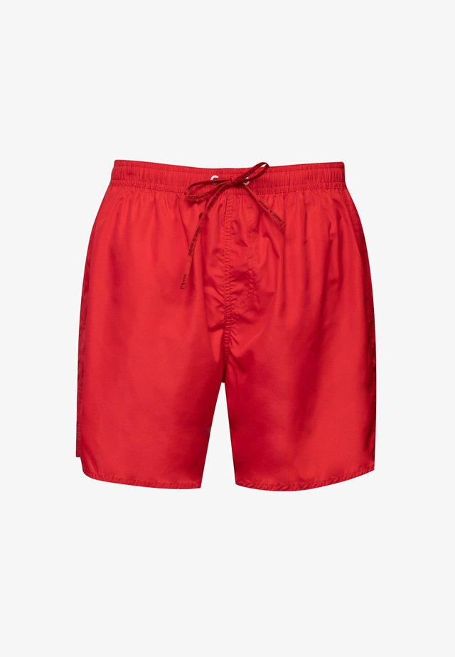 COLORFUL SWIMMING SHORTS - Zwemshorts - red