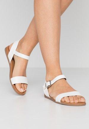 KASSIAN - Sandals - white