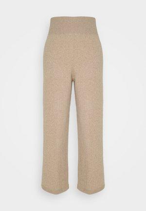 NIGHTWEAR TROUSER - Pyjama bottoms - beige dusty