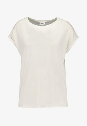 VMAVA PLAIN - Basic T-shirt - snow white