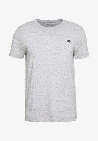 LOGO TEE  - T-shirt basic - smoking grey global