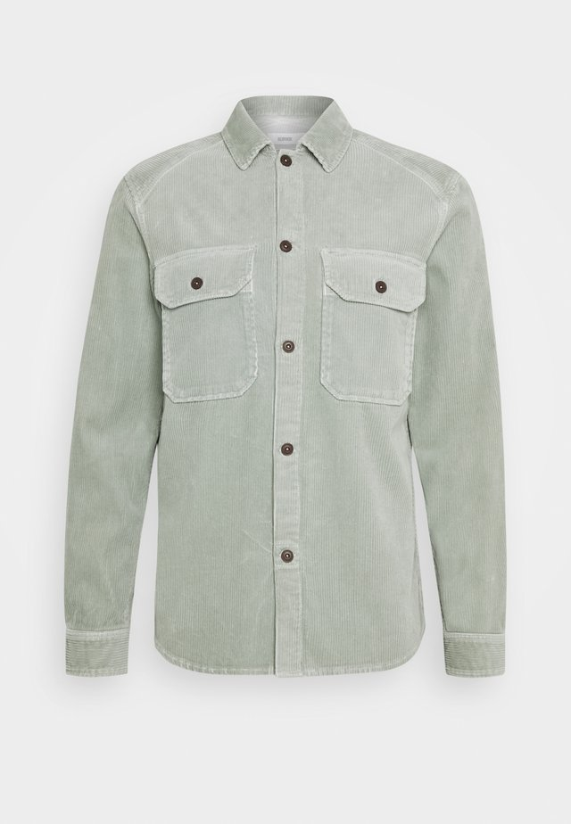 ARMY OVER SHIRT - Koszula - celadon green