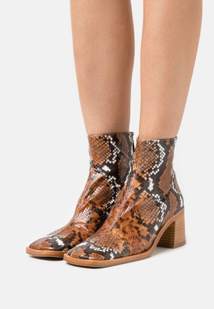 IVY - Kotníkové boty - white/brown
