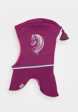 KIDS GIRL - Bonnet - moorbeere/silber