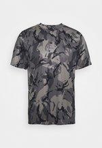 TEE - T-shirt con stampa - grey/black