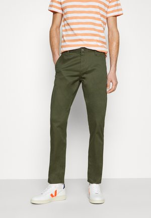 ALPHA ORIGINAL - Chinos - olive core