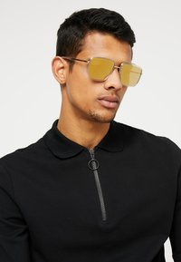 Dolce&Gabbana - Sunglasses - pale gold-coloured/crystal - 1