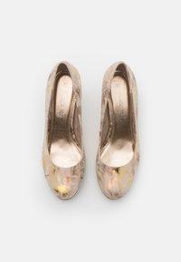 Marco Tozzi - COURT SHOE - Platform heels - dune - 5