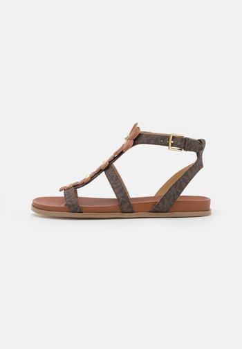 NELLIE - Sandals - brown