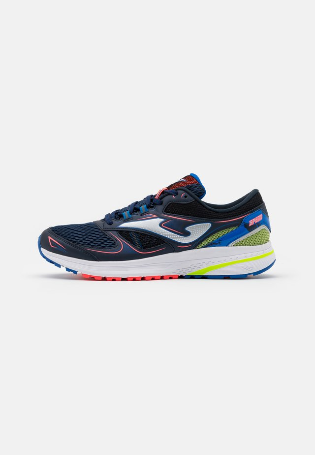 SPEED - Chaussures de running neutres - navy/lemon