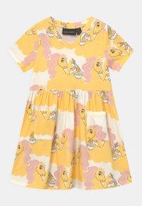 Mini Rodini - UNICORN NOODLES - Žerzejové šaty - yellow - 0
