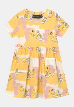 UNICORN NOODLES - Vestito di maglina - yellow