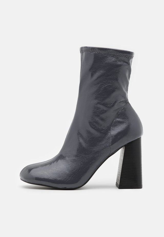 BRODY STRETCH SOCK BOOT - Classic ankle boots - grey