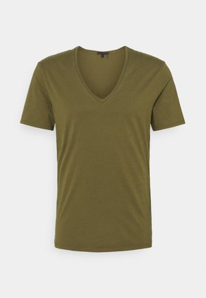QUENTIN - Basic T-shirt - olive