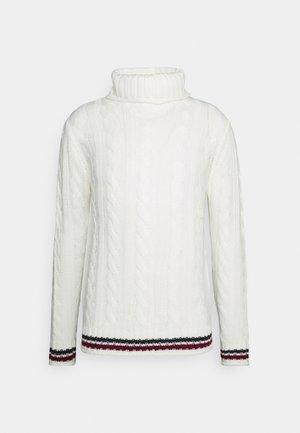 Jumper - vintage white/midnight navy/burgundy