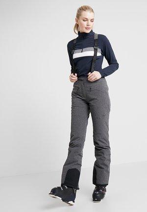 POPPY PANT - Snow pants - dark grey melange