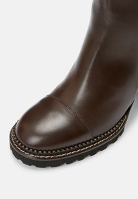See by Chloé - MALLORY - High heeled ankle boots - dark brown - 5