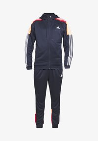 adidas Performance - 3STRIPES AEROREADY ATHLETICS SPORT TRACKSUIT - Verryttelypuku - dark blue - 6