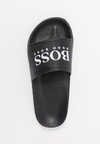 BOSS Kidswear - SLIDE - Matalakantaiset pistokkaat - black - 1