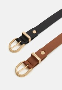 Anna Field - 2 PACK - Belt - cognac - 1