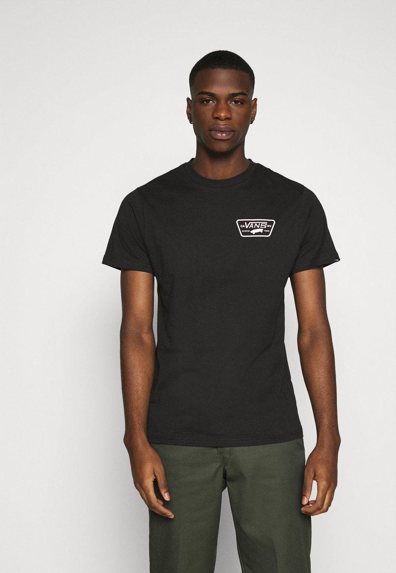 Vans - FULL PATCH BACK  - Print T-shirt - black/pink