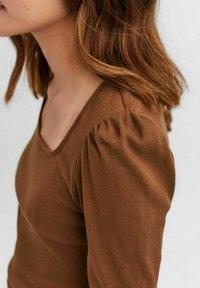 Vero Moda - NATASHA  - Long sleeved top - brown - 3