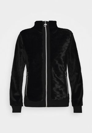ESPINGEN - Zip-up hoodie - black