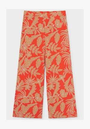 Trousers - dark orange