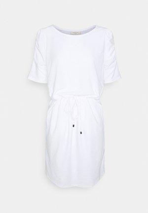 Žerzejové šaty - brilliant white