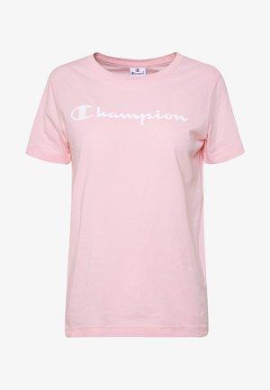 CREWNECK - Triko spotiskem - pink