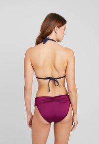 Seafolly - BAND RETRO - Bikini bottoms - boysenberry - 2