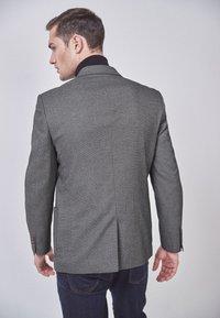 Next - SLIM FIT  - Blazer jacket - mottled grey - 1
