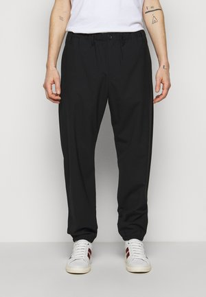 MENS ELASTICATED TROUSER - Kalhoty - black