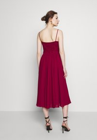 Swing - Cocktail dress / Party dress - weinrot - 2