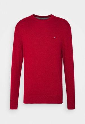 PIMA CREW NECK - Pullover - red