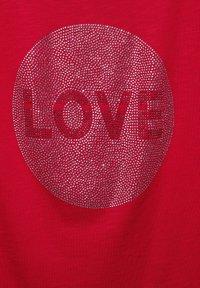Street One - Print T-shirt - rot - 4