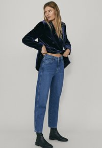 Massimo Dutti - Straight leg jeans - blue - 1