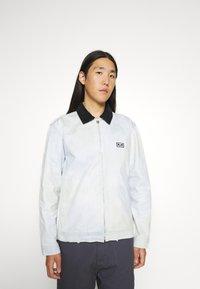 Obey Clothing - TIE DYE WORK JACKET - Kevyt takki - good grey - 0