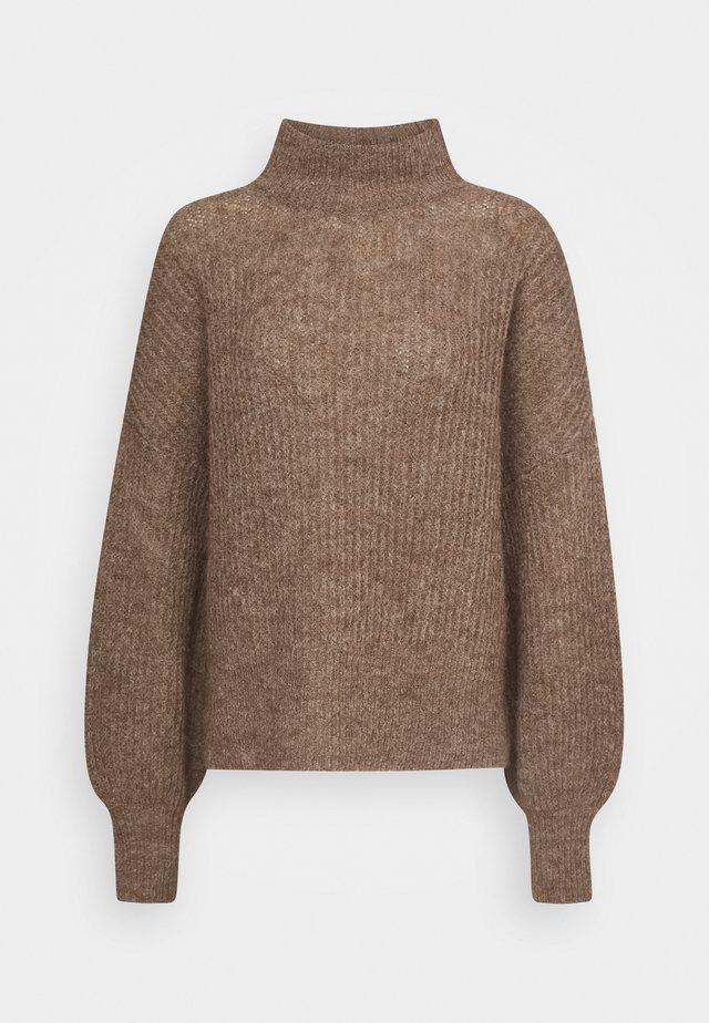 BLAKELY - Trui - brown melange