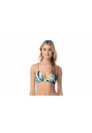 Bikini top - blue/green