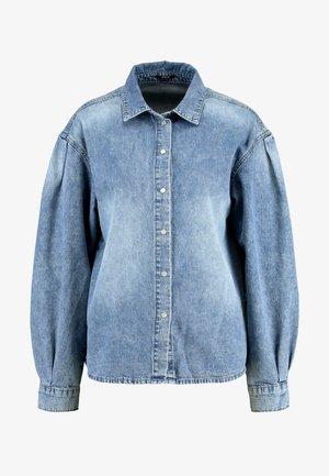 ASHI HIS - Button-down blouse - pale indigo