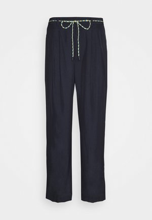 SOFT TROUSERS - Stoffhose - navy