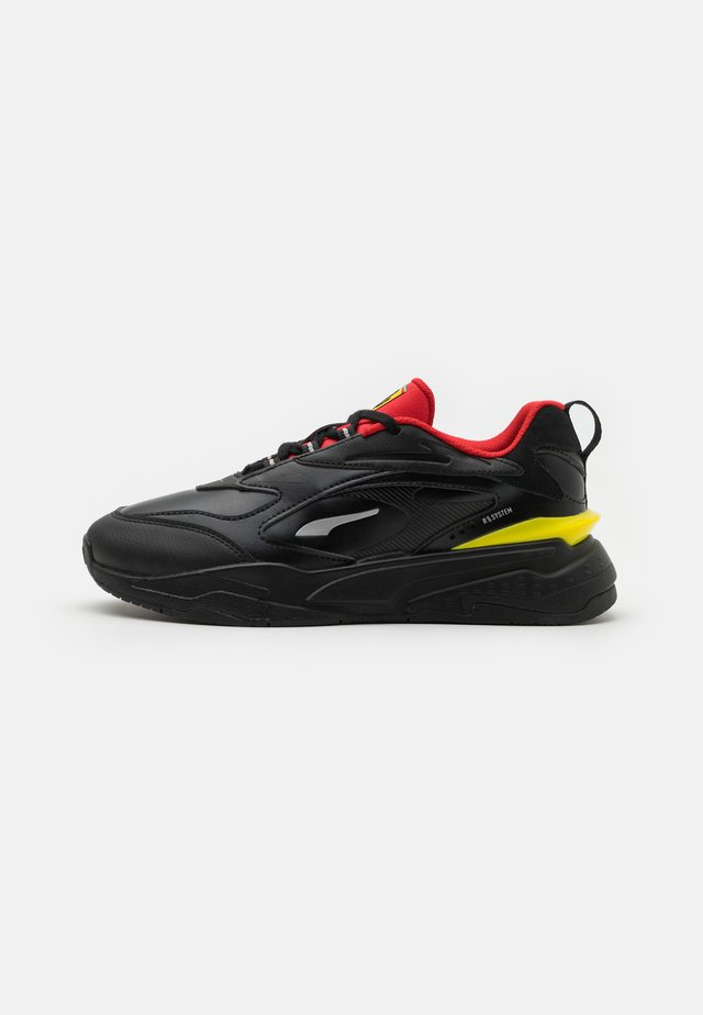 FERRARI RS-FAST  - Tenisky - black/rosso corsa