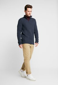 Esprit - ZIPTROYER CAB - Jumper - navy - 1