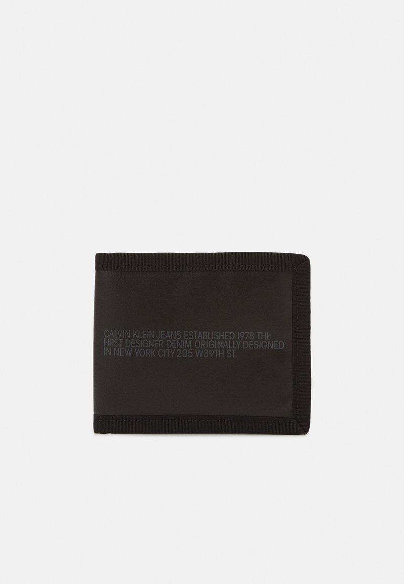 Calvin Klein Jeans - BILLFOLD COIN - Wallet - black