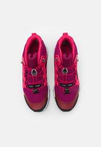 adidas Performance - TERREX MID GTX UNISEX - Hiking shoes - power berry/core black - 3