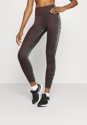 RUN EPIC - Leggings - team red/black