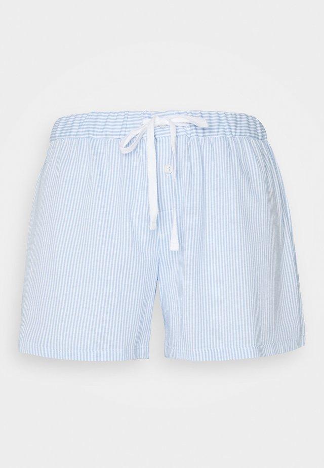 SEPARATE BOX SHORTS - Spodnie od piżamy - blue